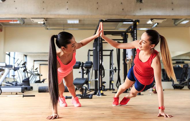 успешный фитнес-клуб