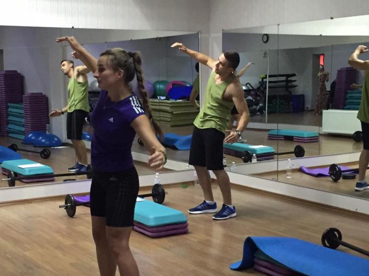 тренировки в зале для начинающих