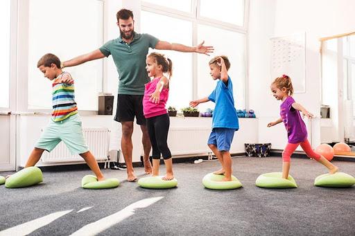 как тренировать детей