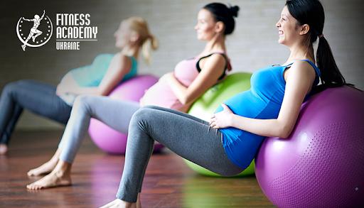 «Академия Фитнеса — Украина», тренинг для беременных